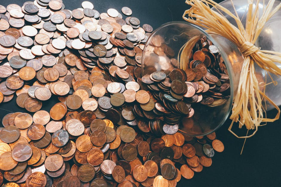 Pennies on the table - that's one way to figure out how much pension you will need!